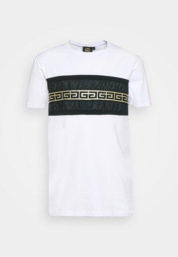RAMON TEE - Print T-shirt - optic white