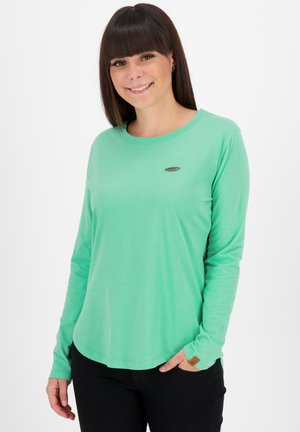 Long sleeved top - emerald