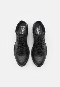 Felmini - DRESA - Lace-up heels - spot black - 5