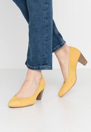 Klasické lodičky - yellow