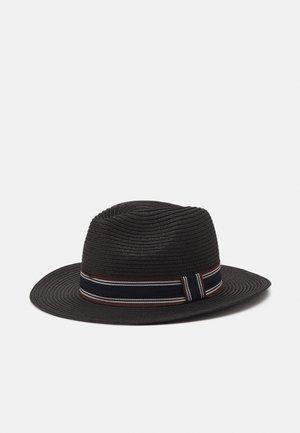 SLHBAKER STRAWHAT - Hat - black