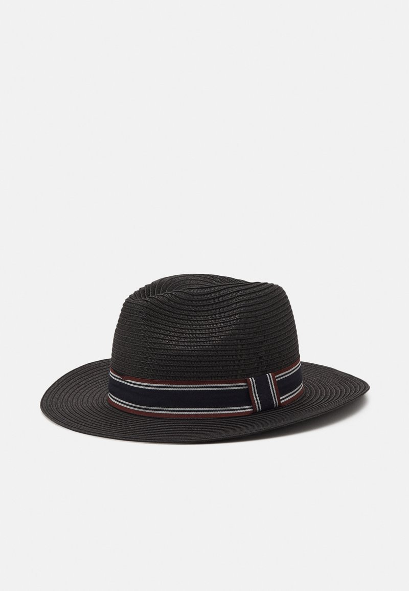 Selected Homme - SLHBAKER STRAWHAT - Hat - black