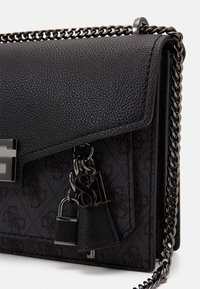 Guess - VALY CONVERTIBLE XBODY FLAP - Across body bag - coal - 4