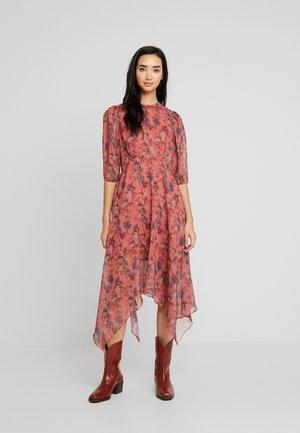 ASYM PRINTED DRESS - Denní šaty - multi