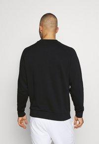 Lacoste Sport - BLIND CROCO - Sweatshirt - black/flour - 2