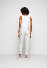 Polo Ralph Lauren - DANVERS  - Straight leg jeans - beaded ivory - 2
