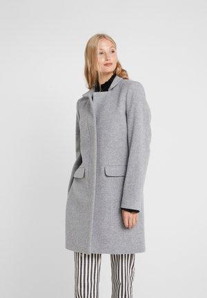 PORI - Classic coat - platinum