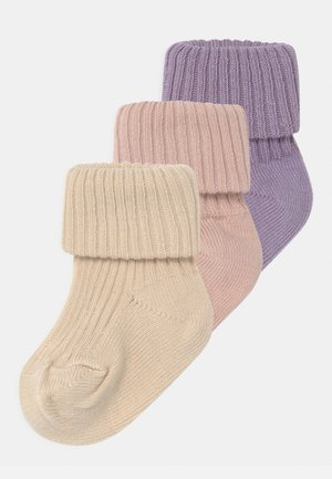3 PACK - Socks - rose dust