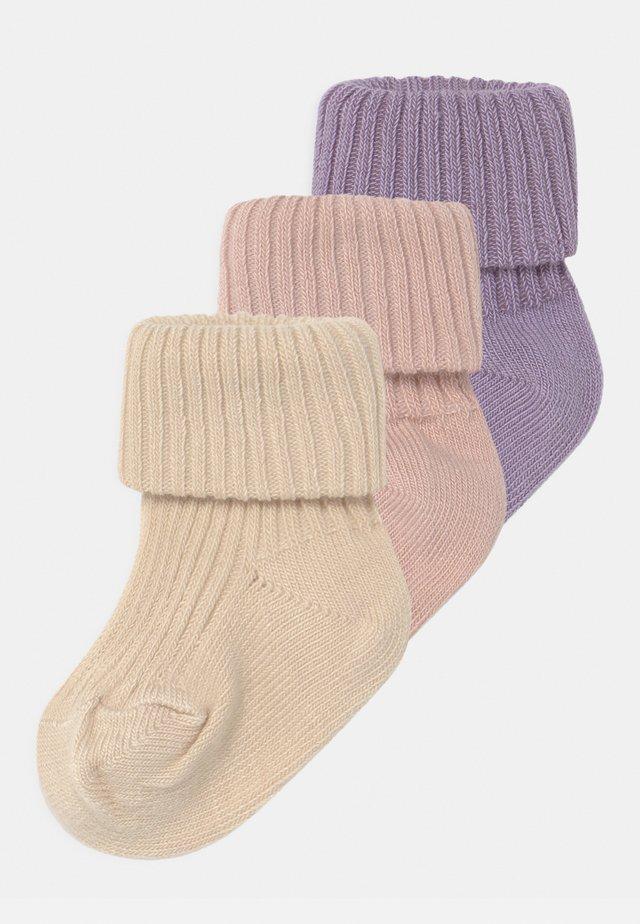 3 PACK - Socks - rose dust