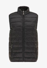 DreiMaster - STEPP - Waistcoat - schwarz - 4