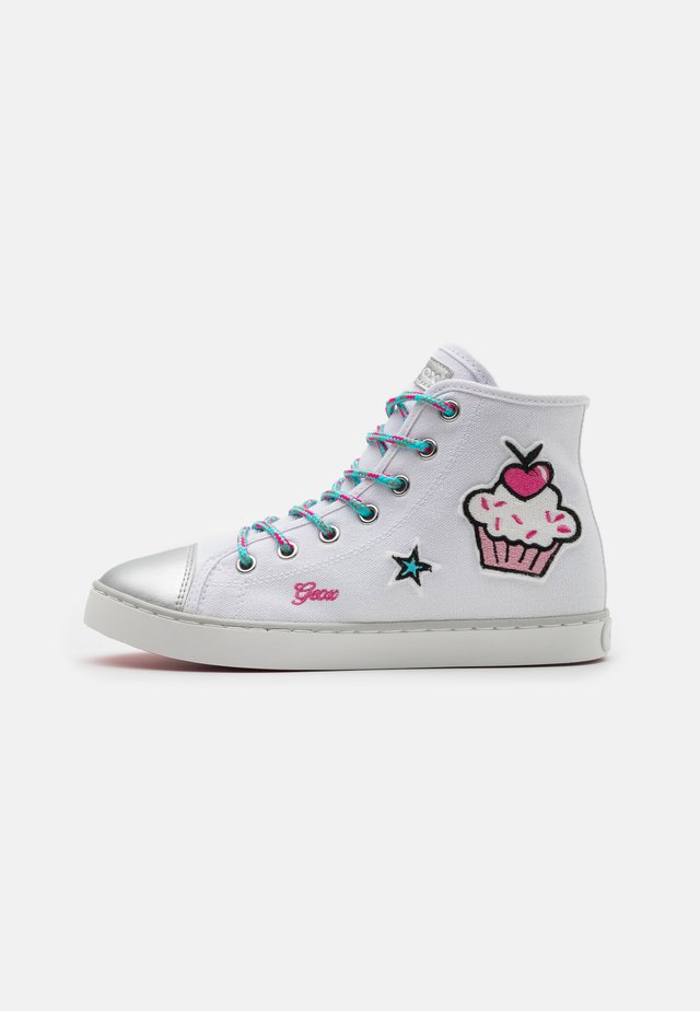 CIAK GIRL - Höga sneakers - white/multicolor