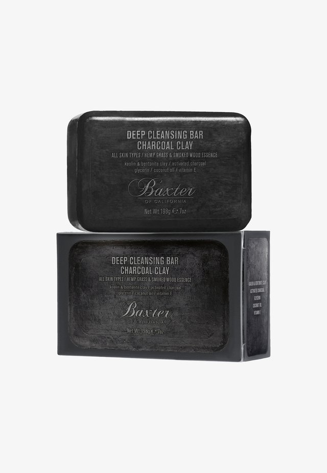 DEEP CLEANSING BAR CHARCOAL CLAY - Saponetta - -