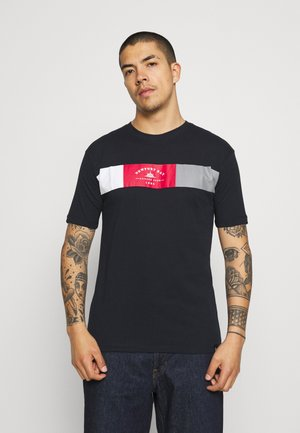 VIPER - T-shirt con stampa - navy