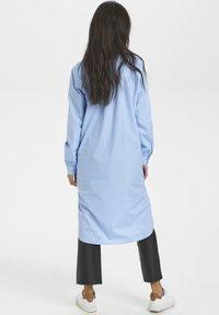 Kaffe - Shirt dress - chambray blue - 2