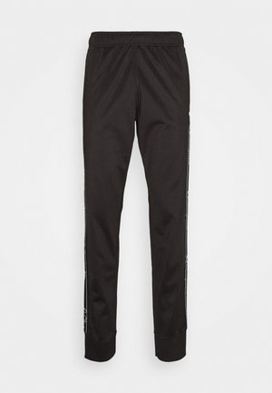LEGACY TAPE CUFF PANTS - Verryttelyhousut - black
