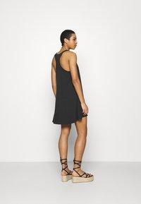 aerie - SWINGY DRESS - Jersey dress - true black - 2