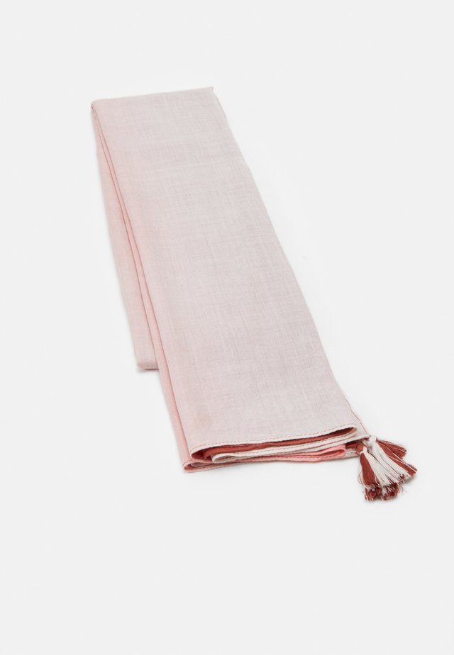 VTERRY - Scarf - white/rose/bordeaux