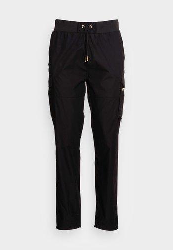 VOLTOS WOVEN PANT - Pantaloni - black