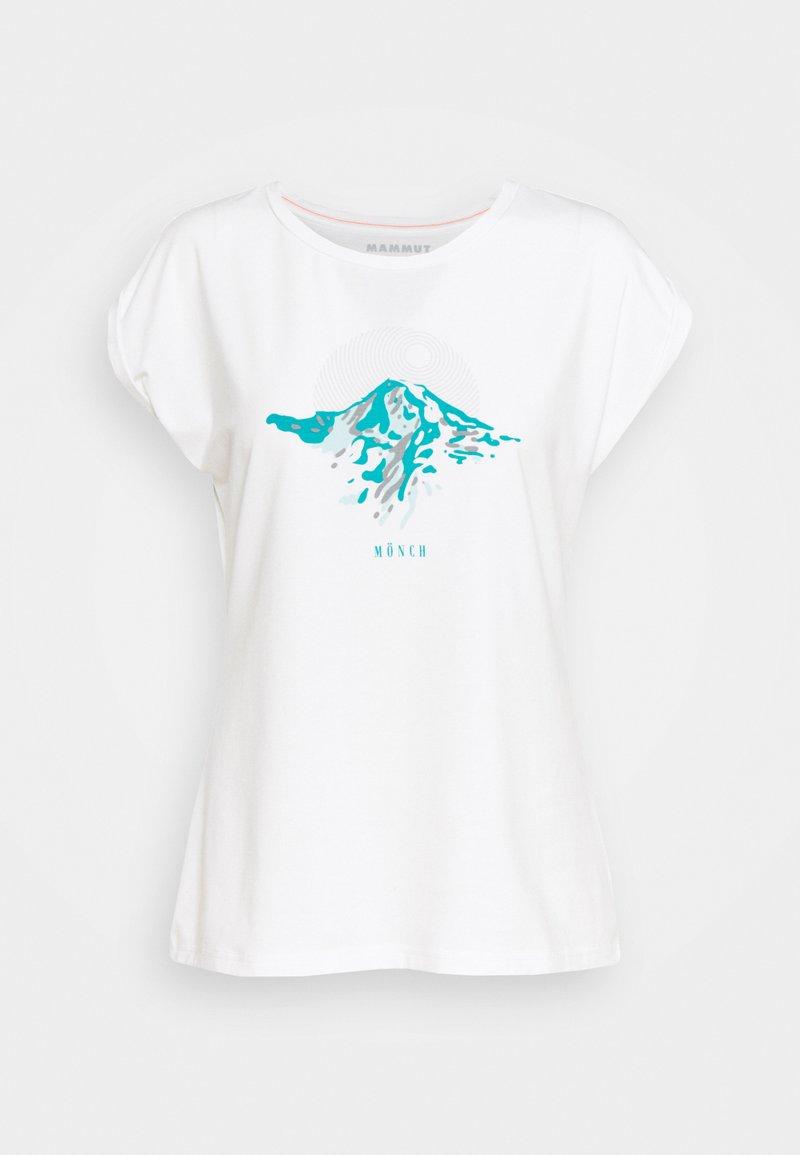 Mammut - T-shirt con stampa - white