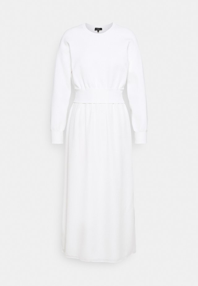 RAGLAN - Gebreide jurk - ivory