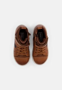 Friboo - LEATHER BOOTIES - High-top trainers - cognac - 3