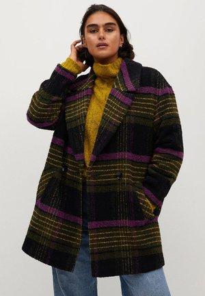 CUADRA - Classic coat - vert