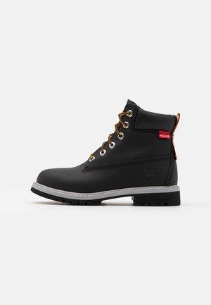 PREMIUM UNISEX - Šněrovací kotníkové boty - black