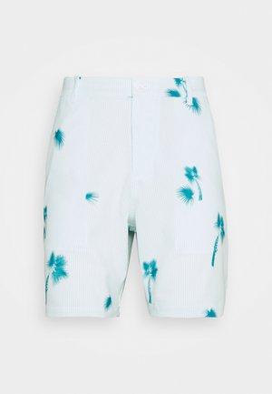 PALMETTO SEERSUCKER SHORT - Sports shorts - ocean depths