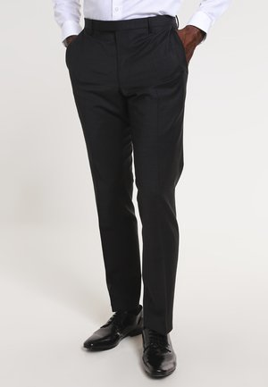 BLAYR - Suit trousers - anthracite