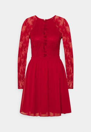 SOMETHING ABOUT HER DRESS - Cocktail dress / Party dress - dark red