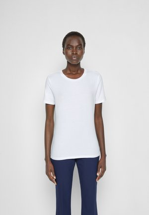 VAGARE - Basic T-shirt - bianco
