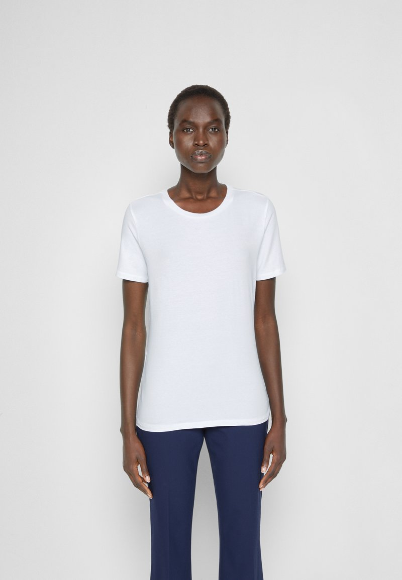 Max Mara Leisure - VAGARE - Basic T-shirt - bianco