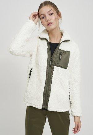 ELLIN - Fleece jacket - cloud dancer
