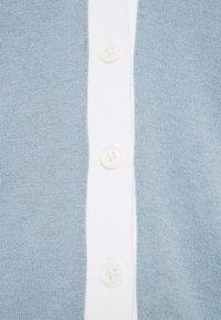 Lauren Ralph Lauren - CARDI - Cardigan - dust blue/white - 2