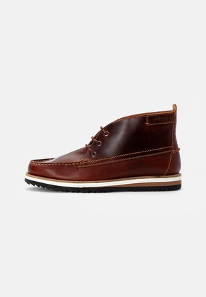 DURSTON MID - Lace-up ankle boots - british tan