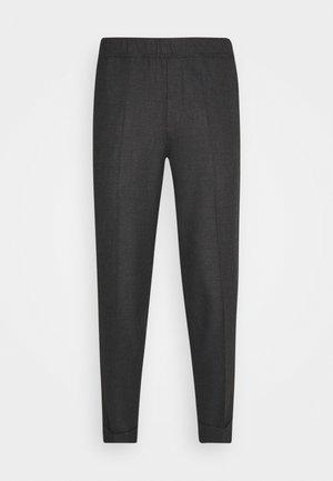 PILOU - Trousers - dark grey melange