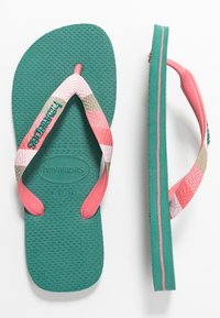 Havaianas - TOP VERANO - Klipklappere/ klip klapper - green leaf - 3