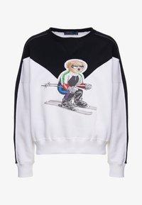 Polo Ralph Lauren - SEASONAL - Sweatshirt - black/white - 6