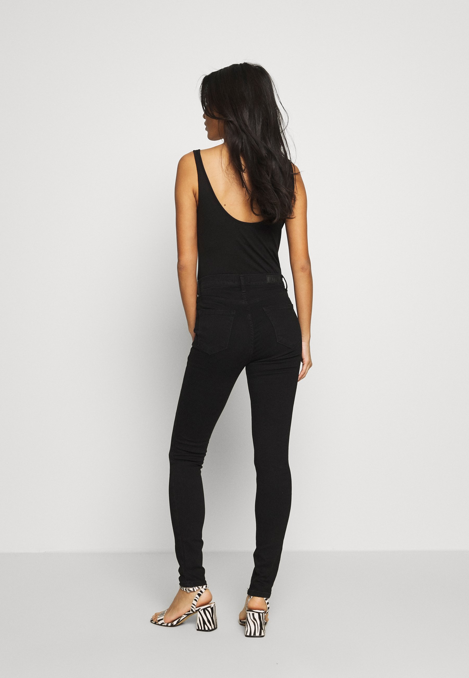 LTB AMY - Jeans Skinny - black - Jeans Femme MzOx4
