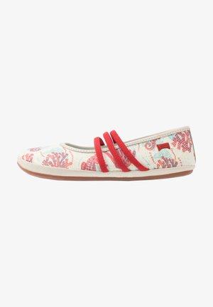 TWINS - Ankle strap ballet pumps - multicolor