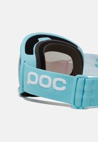 POC - FOVEA MID UNISEX - Ski goggles - crystal blue/neutral grey/celeste - 3