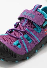 TrollKids - KIDS SANDEFJORD - Walking sandals - fuchsia/turquoise - 2