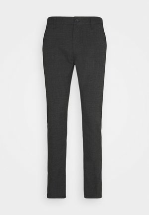 OXFORD - Trousers - charcoal prince of wales