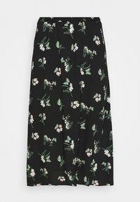 Vero Moda Curve - VMSIMPLY EASY SKIRT - Maxi skirt - black/ann - 6
