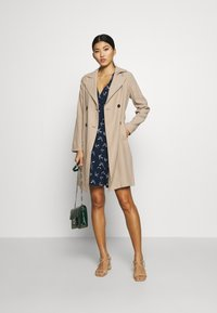 Dorothy Perkins - BUTTON FRONT - Trench - stone - 1