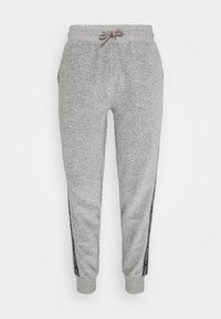 Tommy Hilfiger - TRACK PANT - Pyjamahousut/-shortsit - mid grey heather - 3