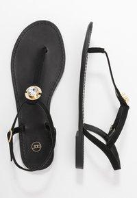 PARFOIS - T-bar sandals - black - 3