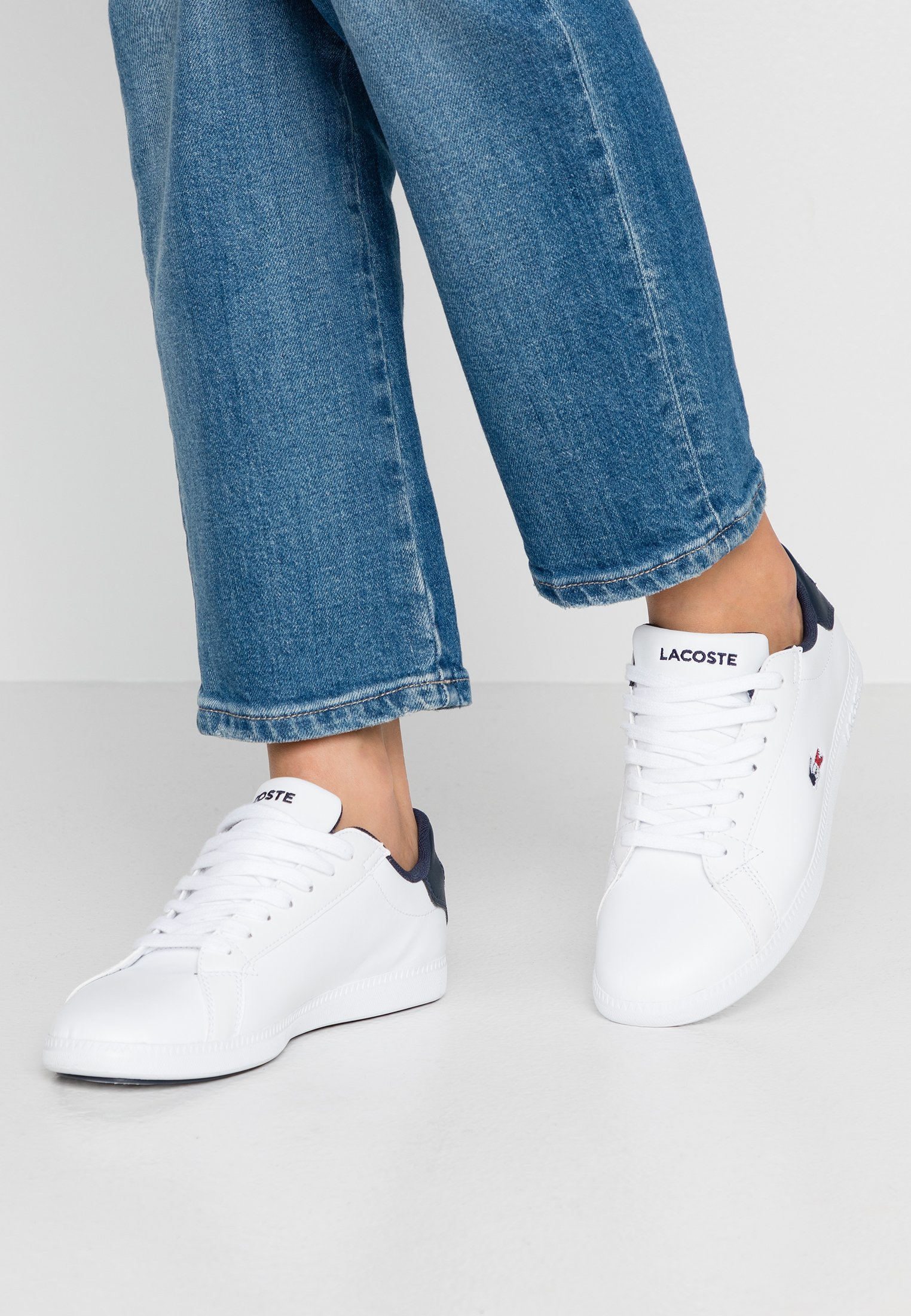 Donna GRADUATE  - Sneakers basse - white/navy/red