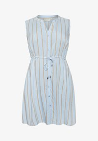 Kaffe Curve - Sukienka koszulowa - chambray blue / sand stripe - 3
