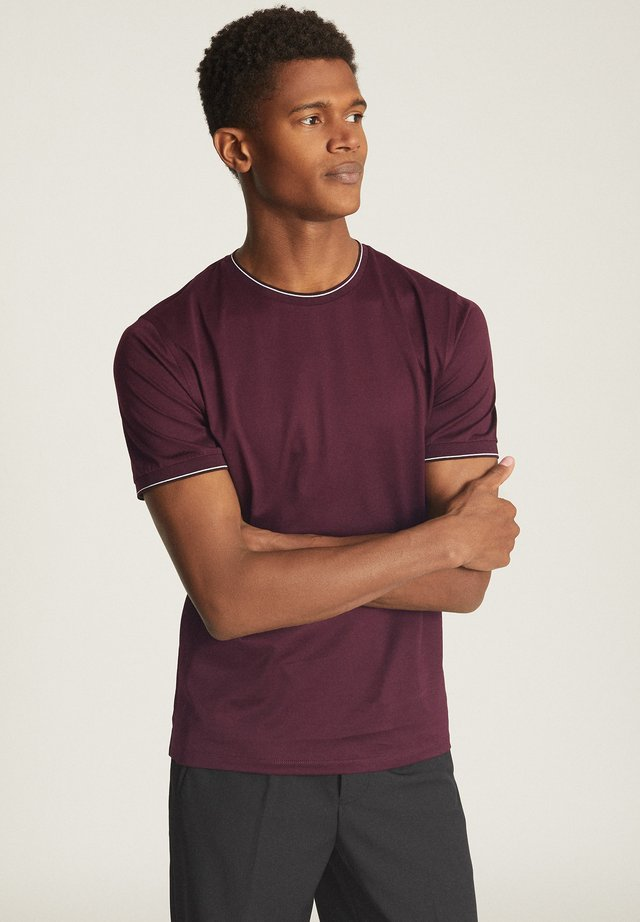 BEDFORD - T-shirt basic - dark red